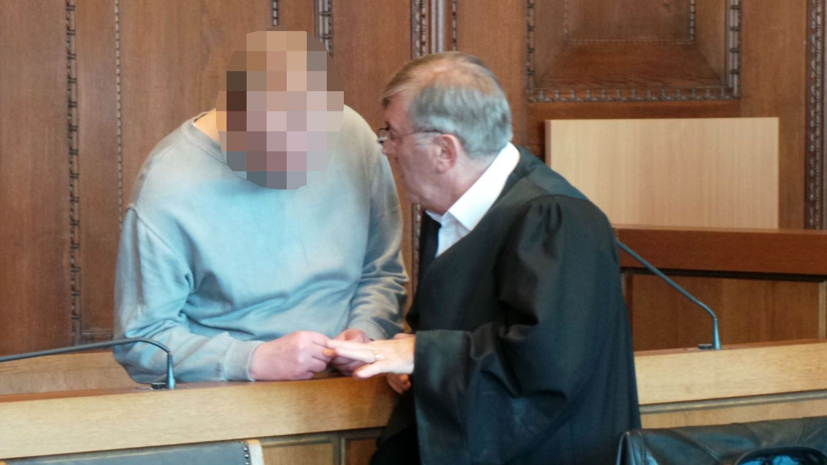 Messerstecher-Prozess am Landgericht Nürnberg