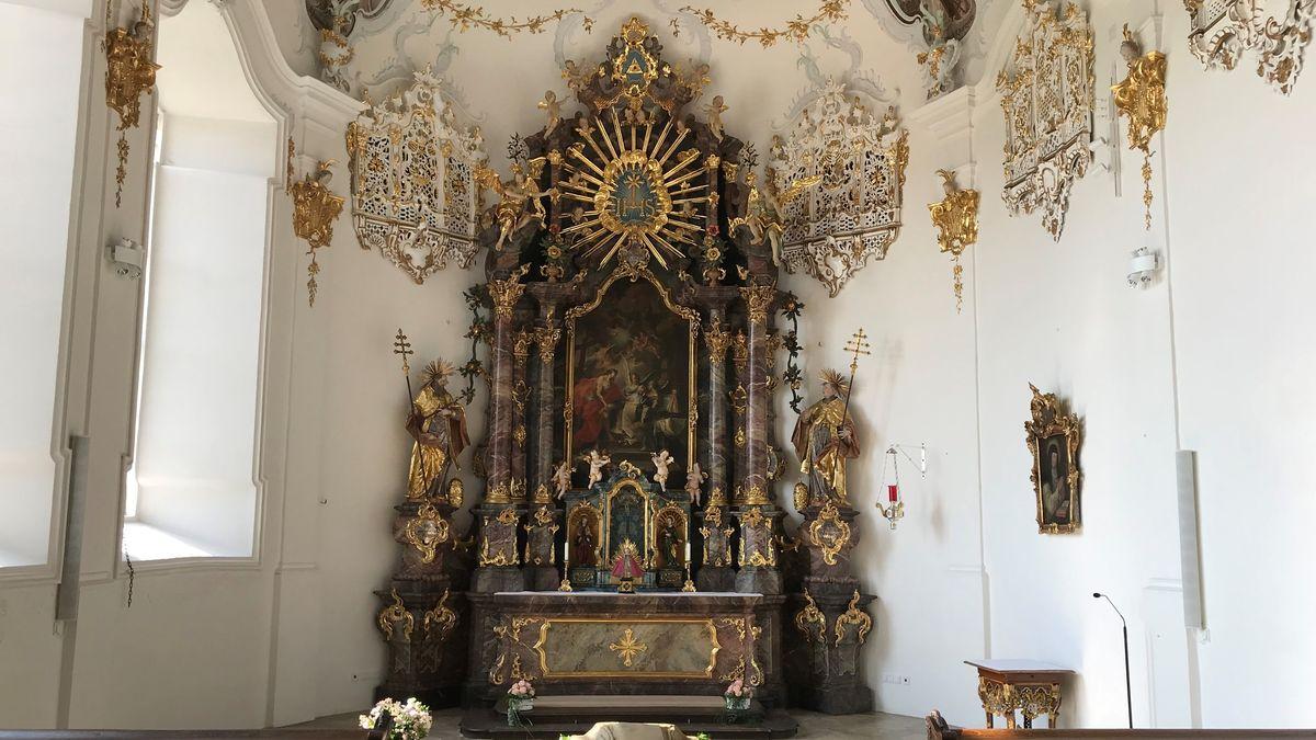 Die Margaretenkapelle strahlt wieder