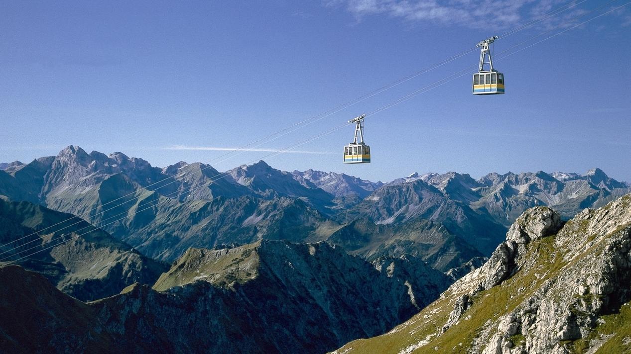 Die Nebelhornbahn (Archivbild)