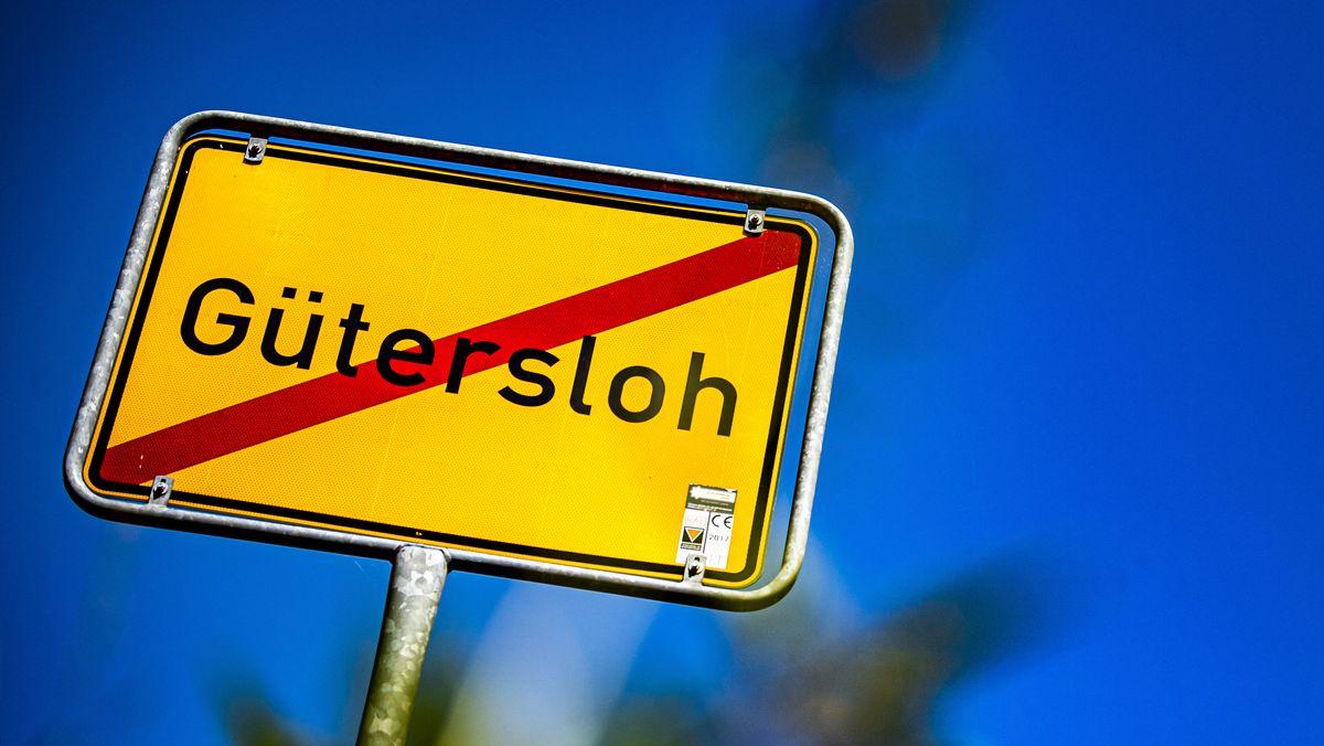 Schild: Gütersloh