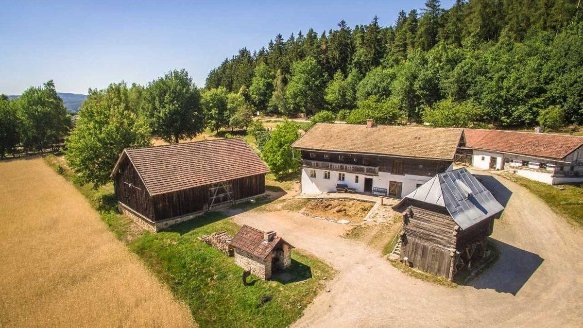Das Waldlerdorf von oben