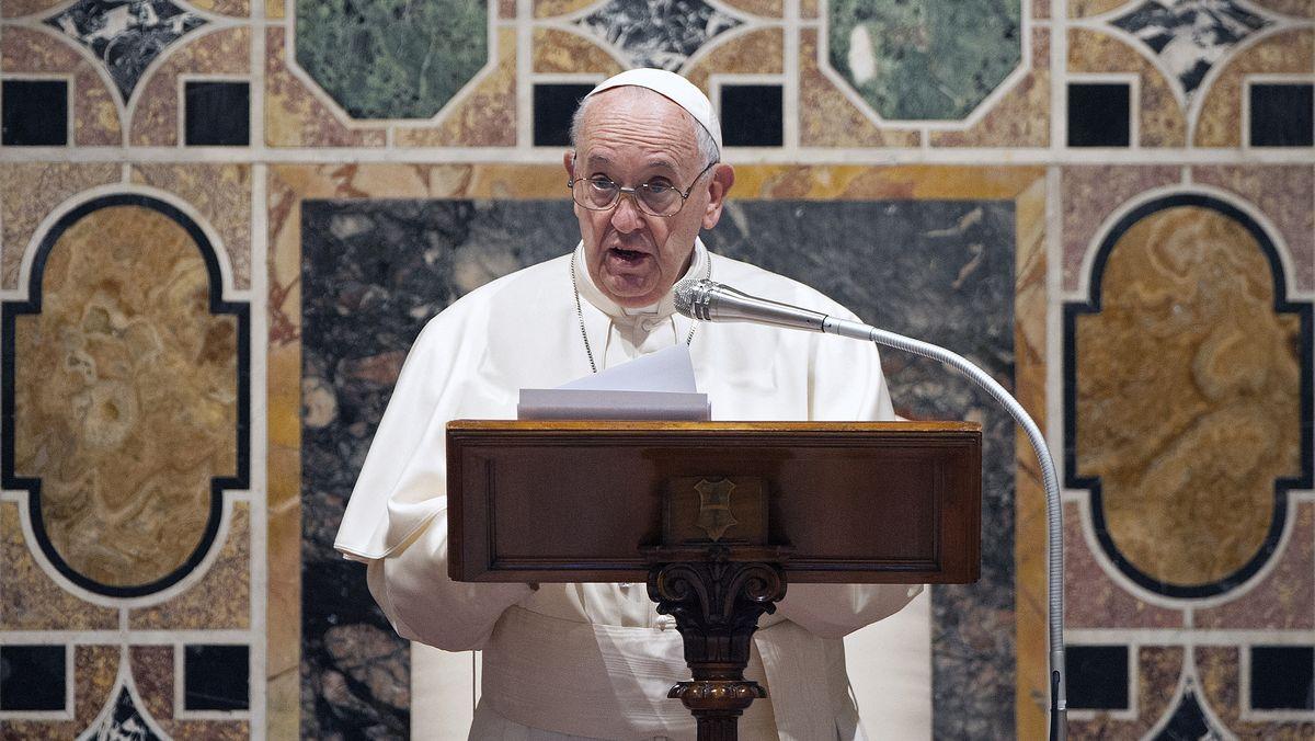 Archivbild: Papst Franziskus an Neujahr 2020.