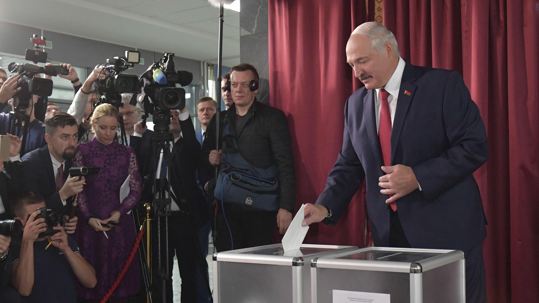 Seit 1994 regiert Lukaschenko ununterbrochen