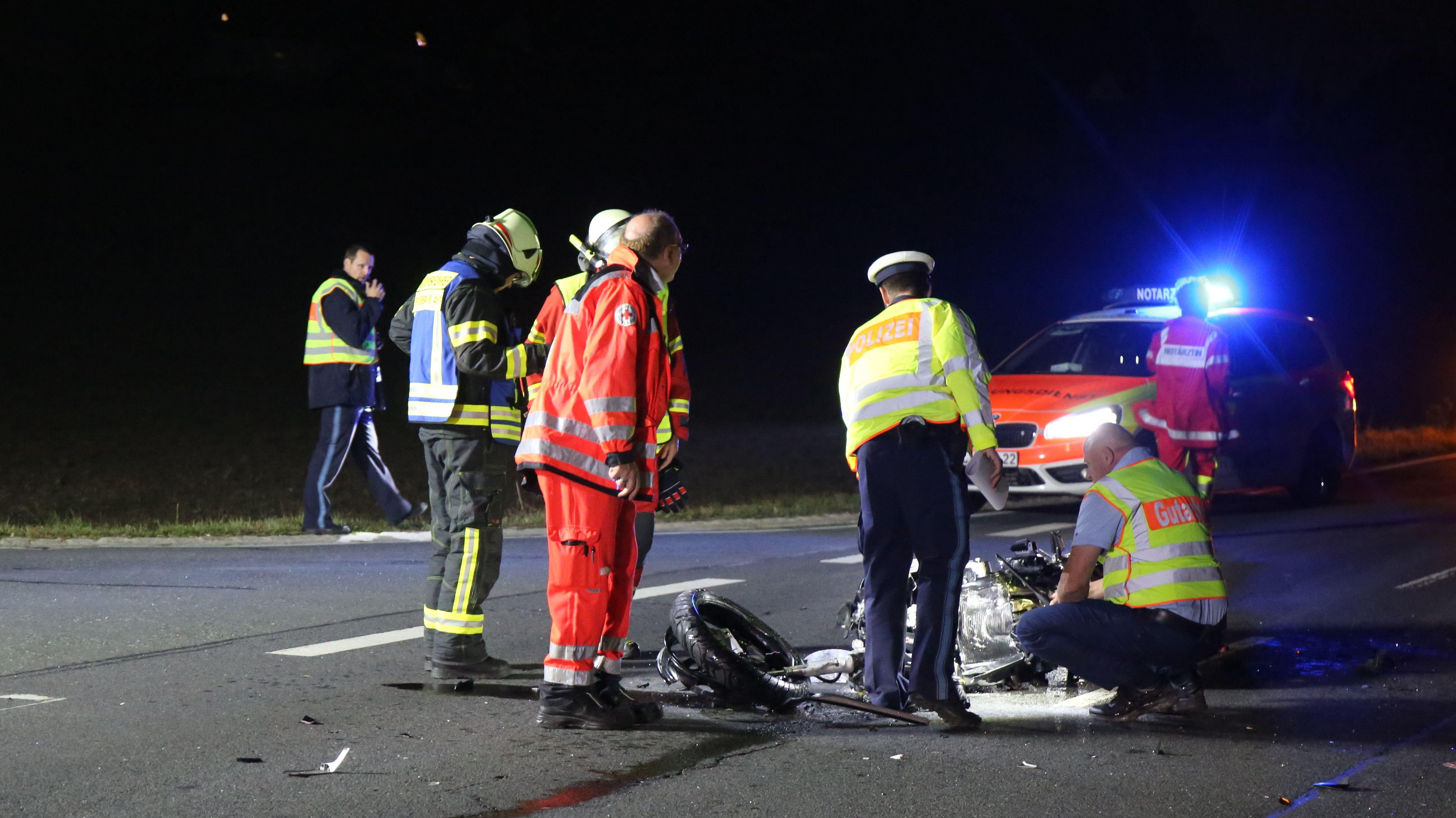 Am Samstagabend ist es zu einem tödlichen Unfall nahe Marktzeuln in Lichtenfels gekommen.