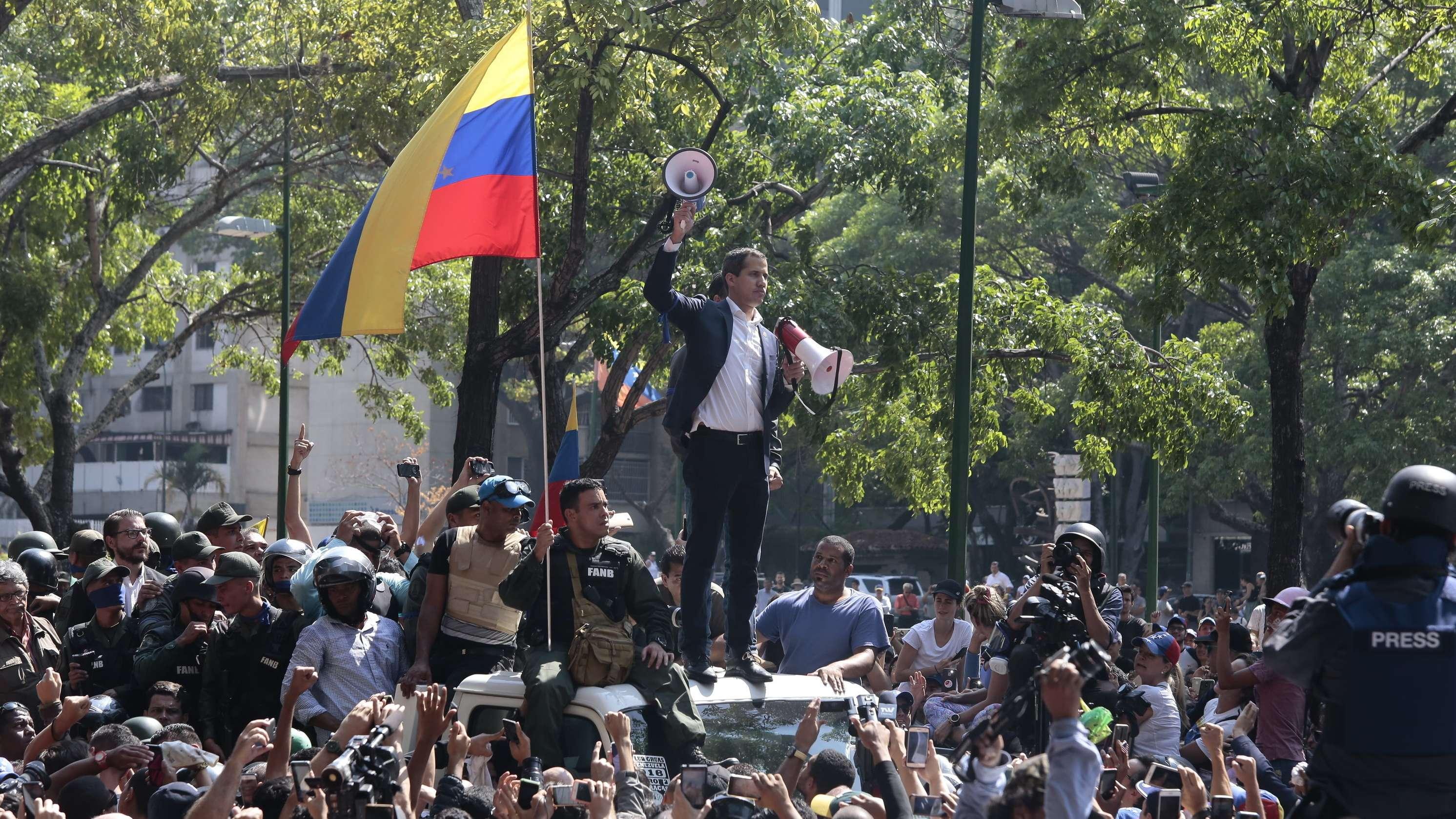 Krise in Venezuela - Militäraufstand
