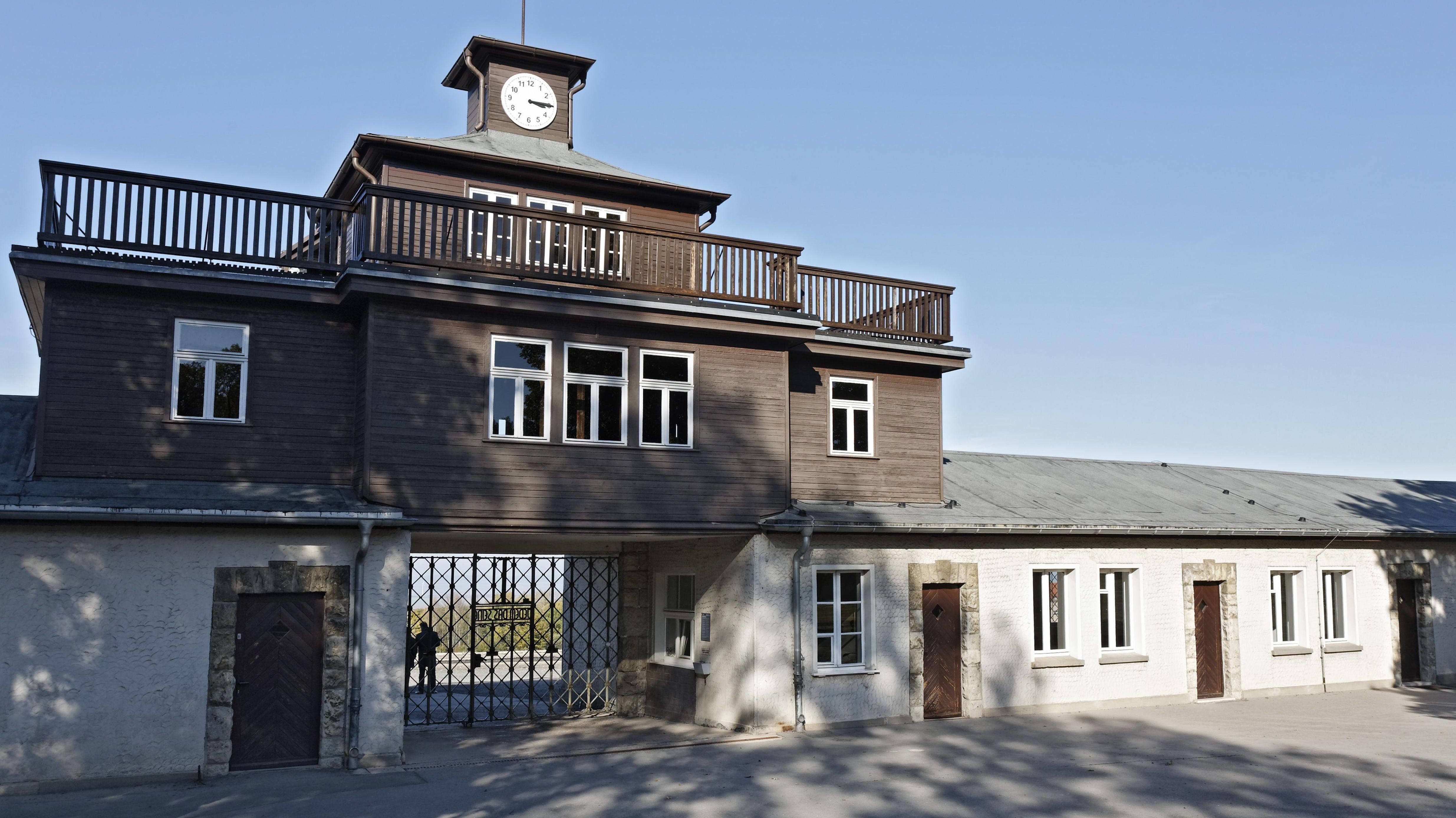 Torgebäude der KZ-Gedenkstätte Buchenwald (Archivbild).