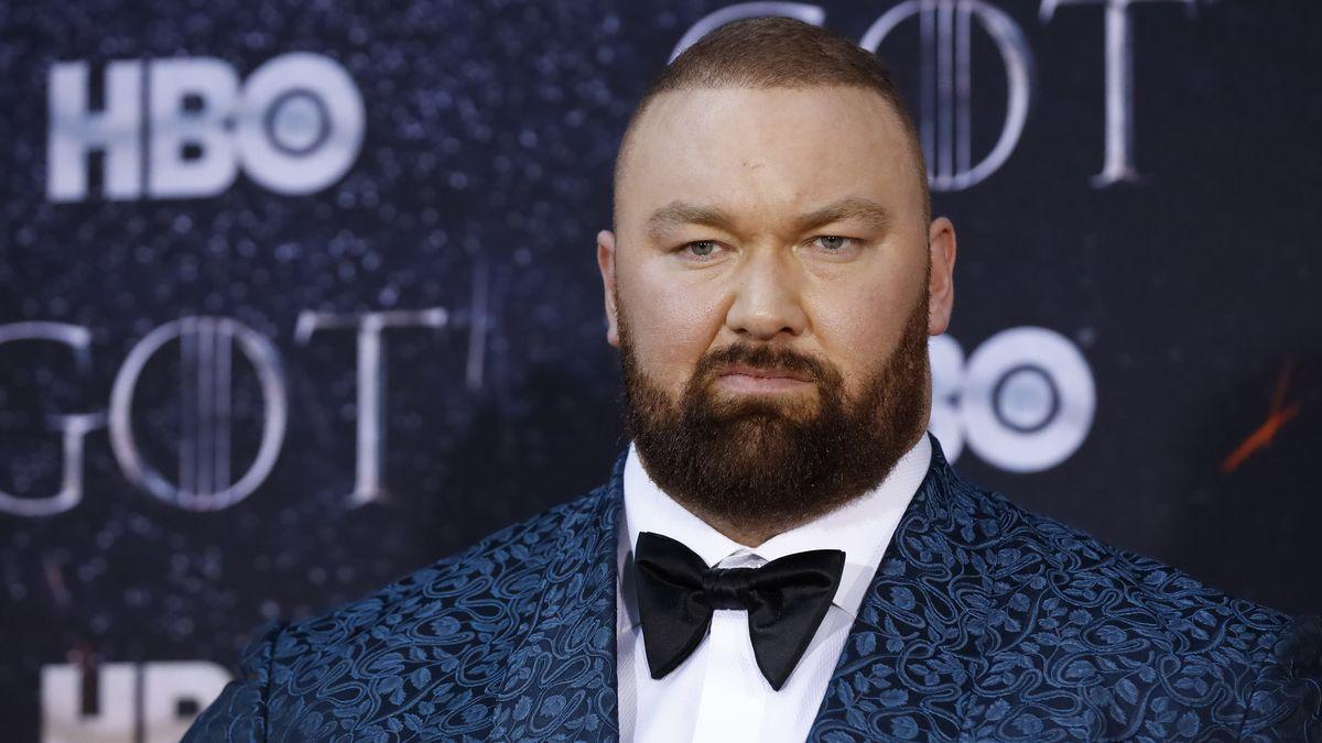 """Bekannt als """"Der Berg"""" in der Erfolgsserie """"Game of Thrones"""": Hafthor Björnsson."""