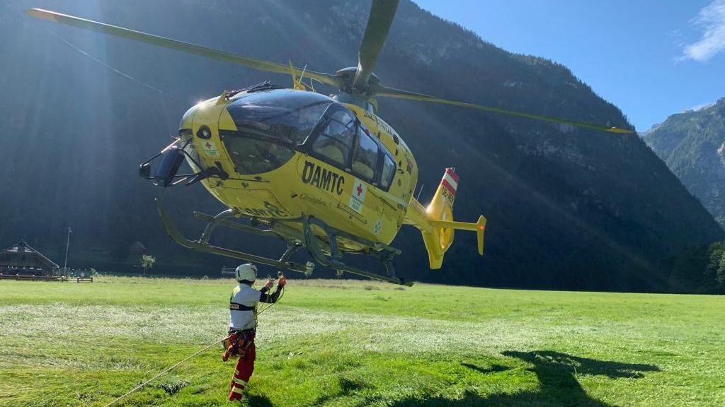 Rettungseinsatz am 09.08.2019 am Watzmann.
