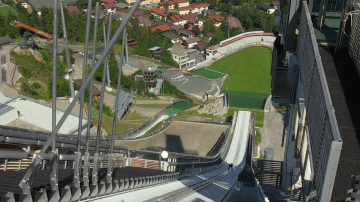 Die neue Oberstdorfer WM-Schanze aus Springersicht