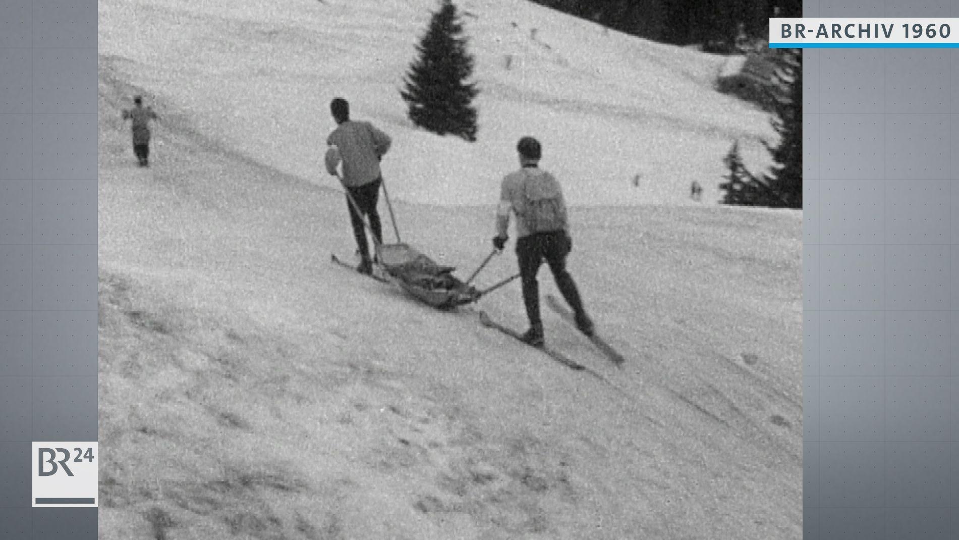 Bergwacht im Winter