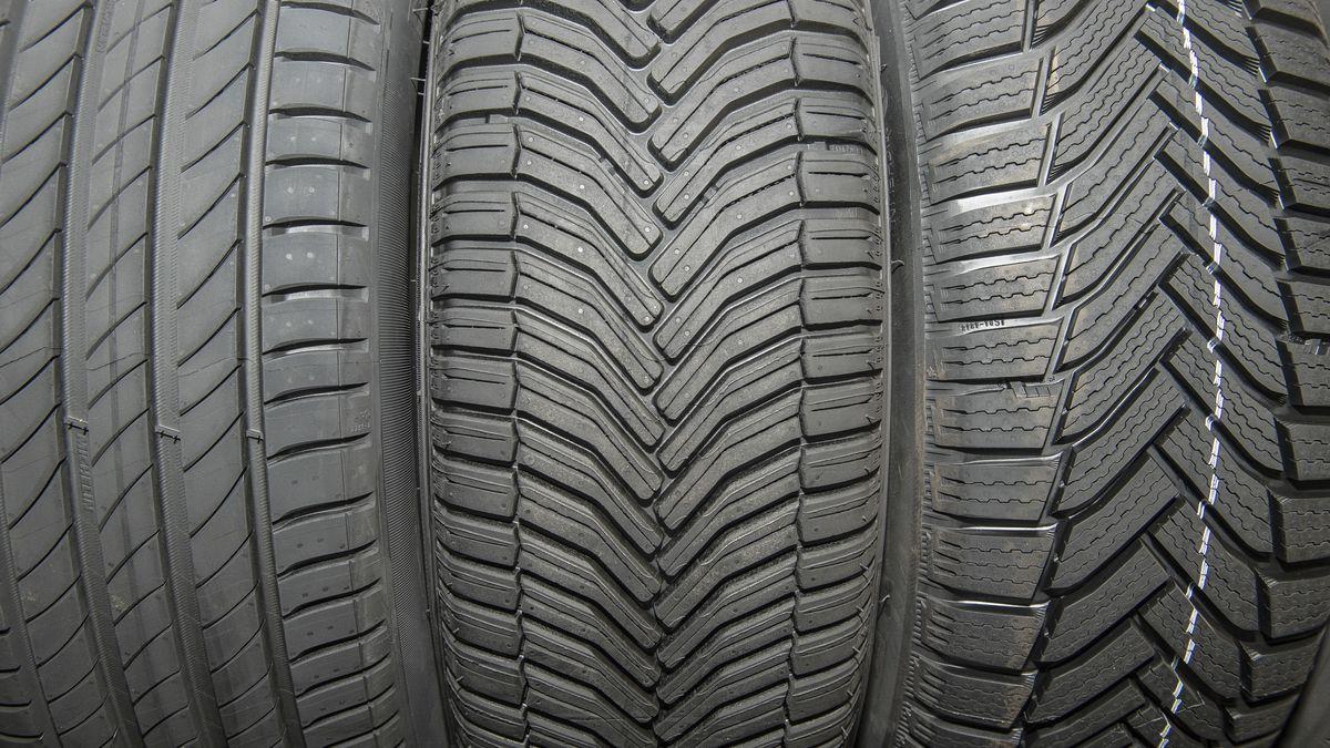 Verschiedene Reifentypen.