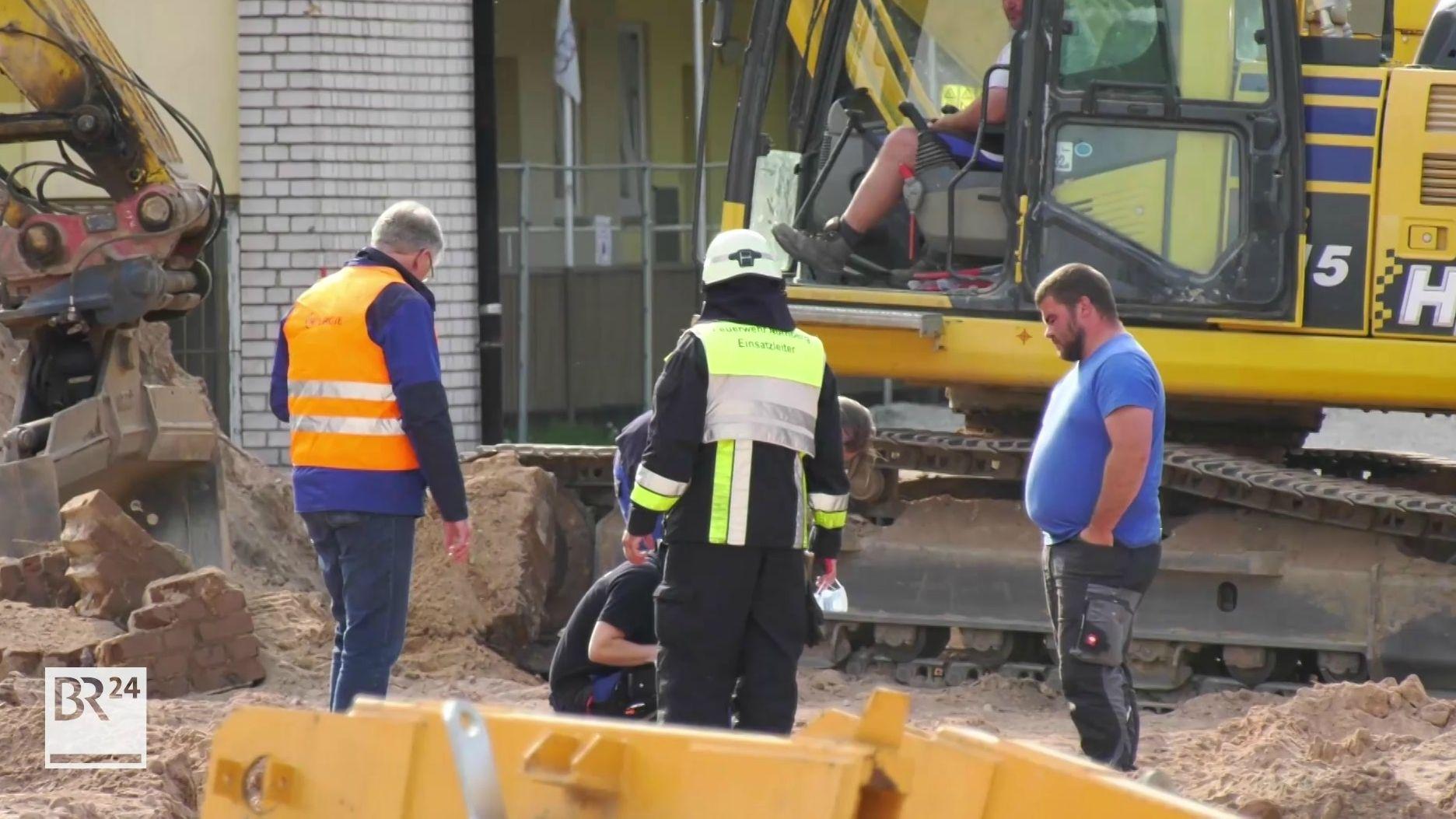 Fragment einer Fliegerbombe in Nürnberg entdeckt