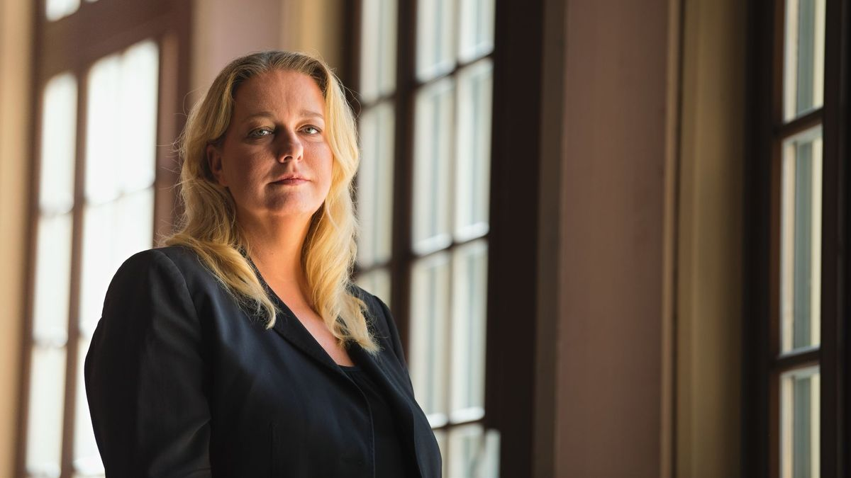 Portrait der Bayreuther Festspielchefin Katharina Wagner