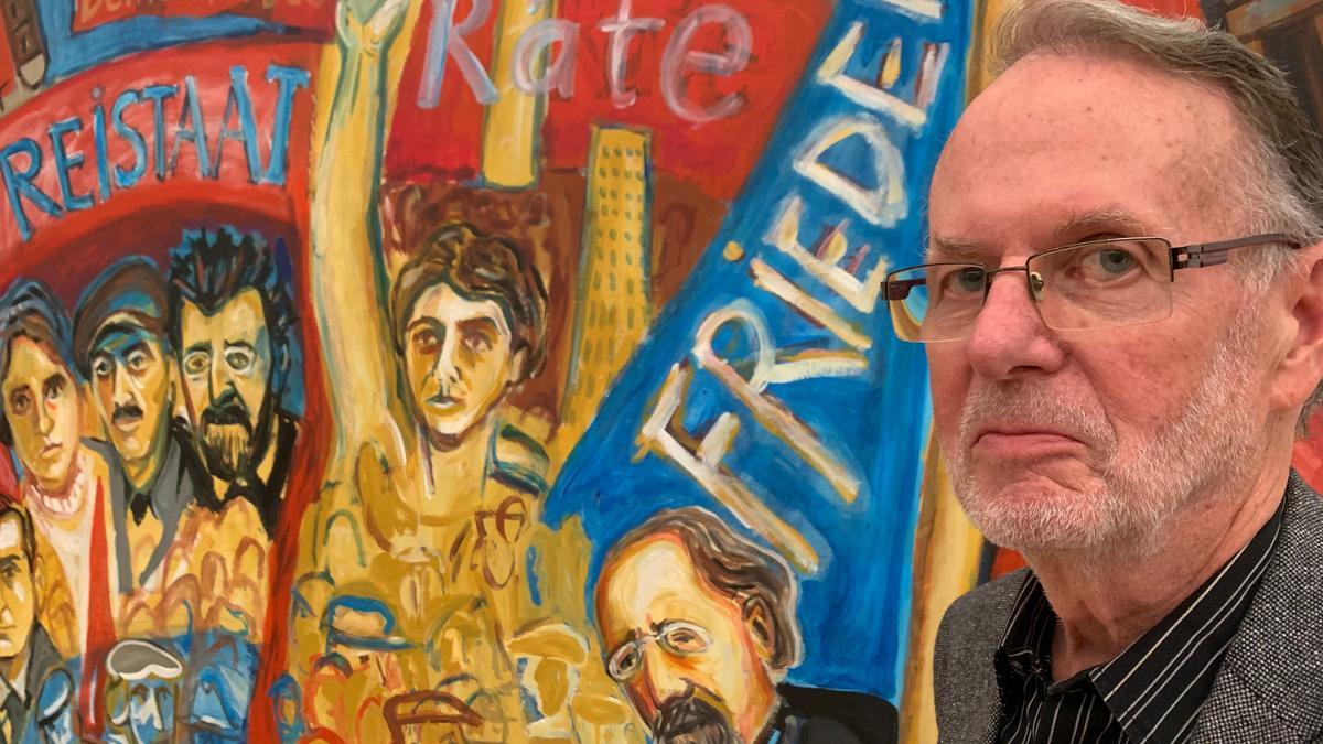 """Kurt Eisners Enkel Gerhard Eisner findet: """"Der Großvater sollte in den Geschichtsbüchern endlich den Rang finden, den er verdient."""""""