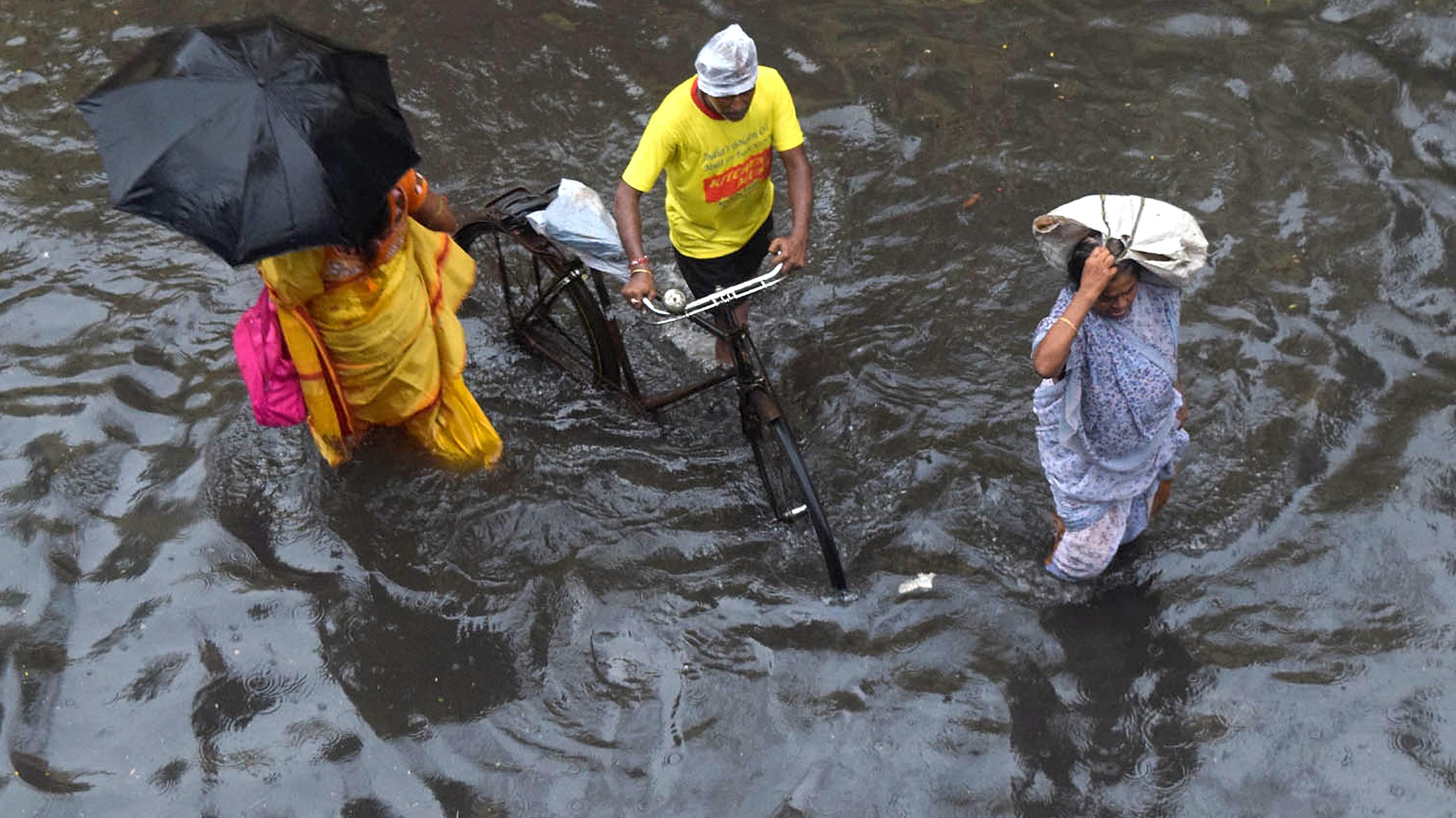Monsunopfer in Indien