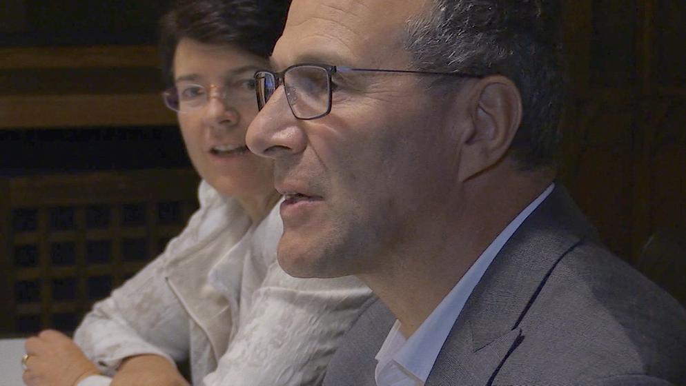 Der ehemalige TV-Richter Alexander Hold von den Freien Wählern | Bild:BR