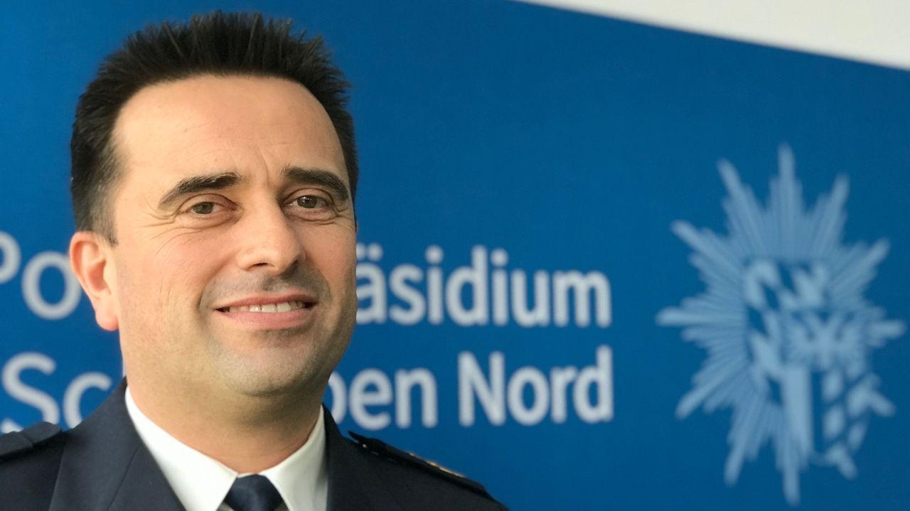 Markus Trebes, Vizepräsident des Polizeipräsidiums Schwaben Nord