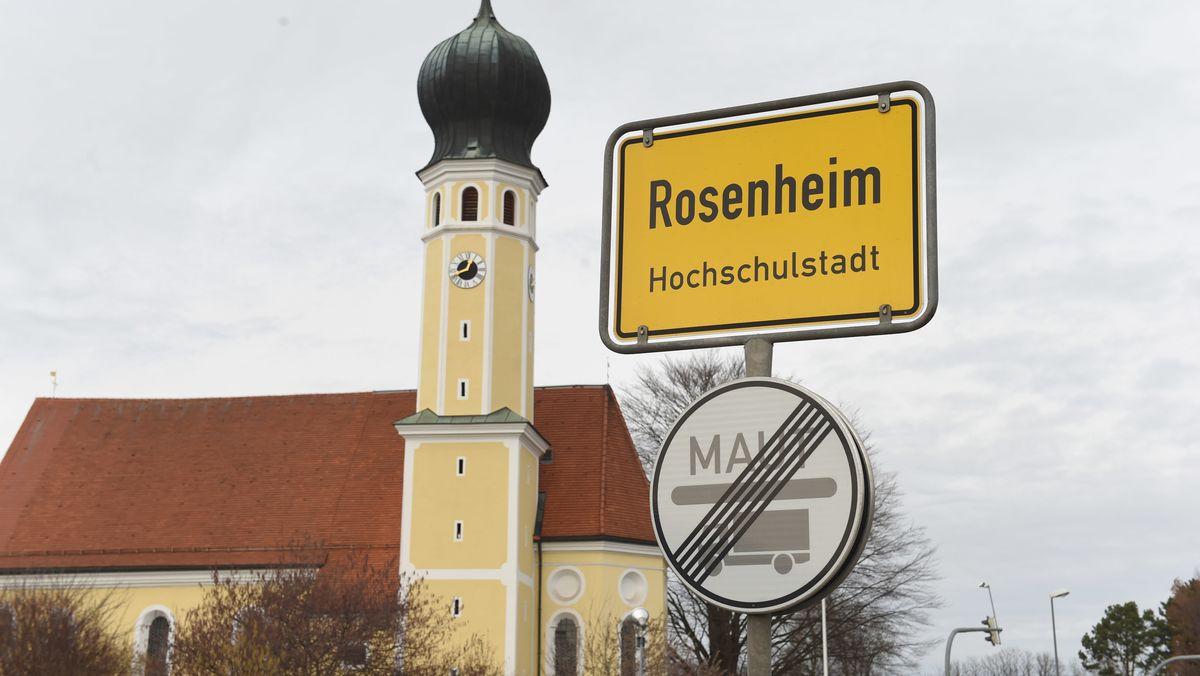 Infektionszahlen in Bayerns Corona-Brennpunkten steigen deutlich. Im Bild Rosenheim.