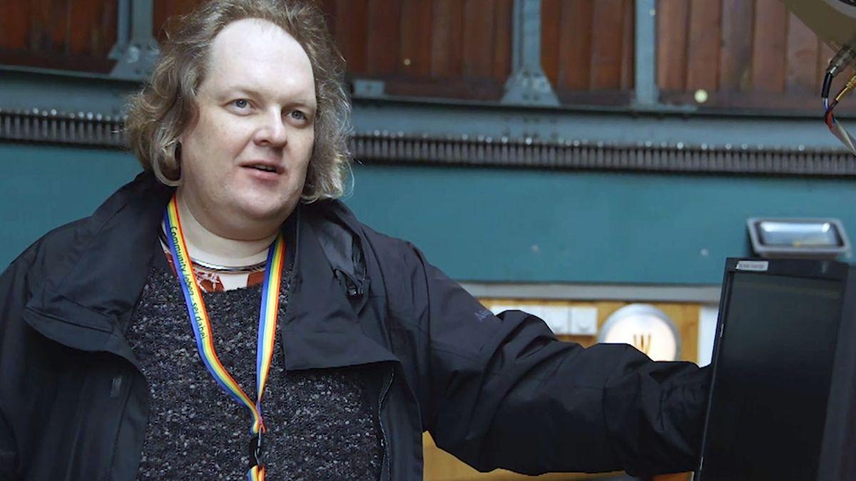 Norman Anja Schmidt aus Nürnberg möchte ein Rollenvorbild sein.