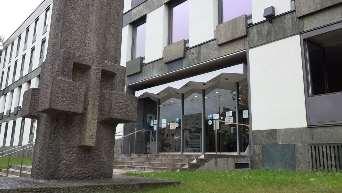 Das Landgericht Weiden.