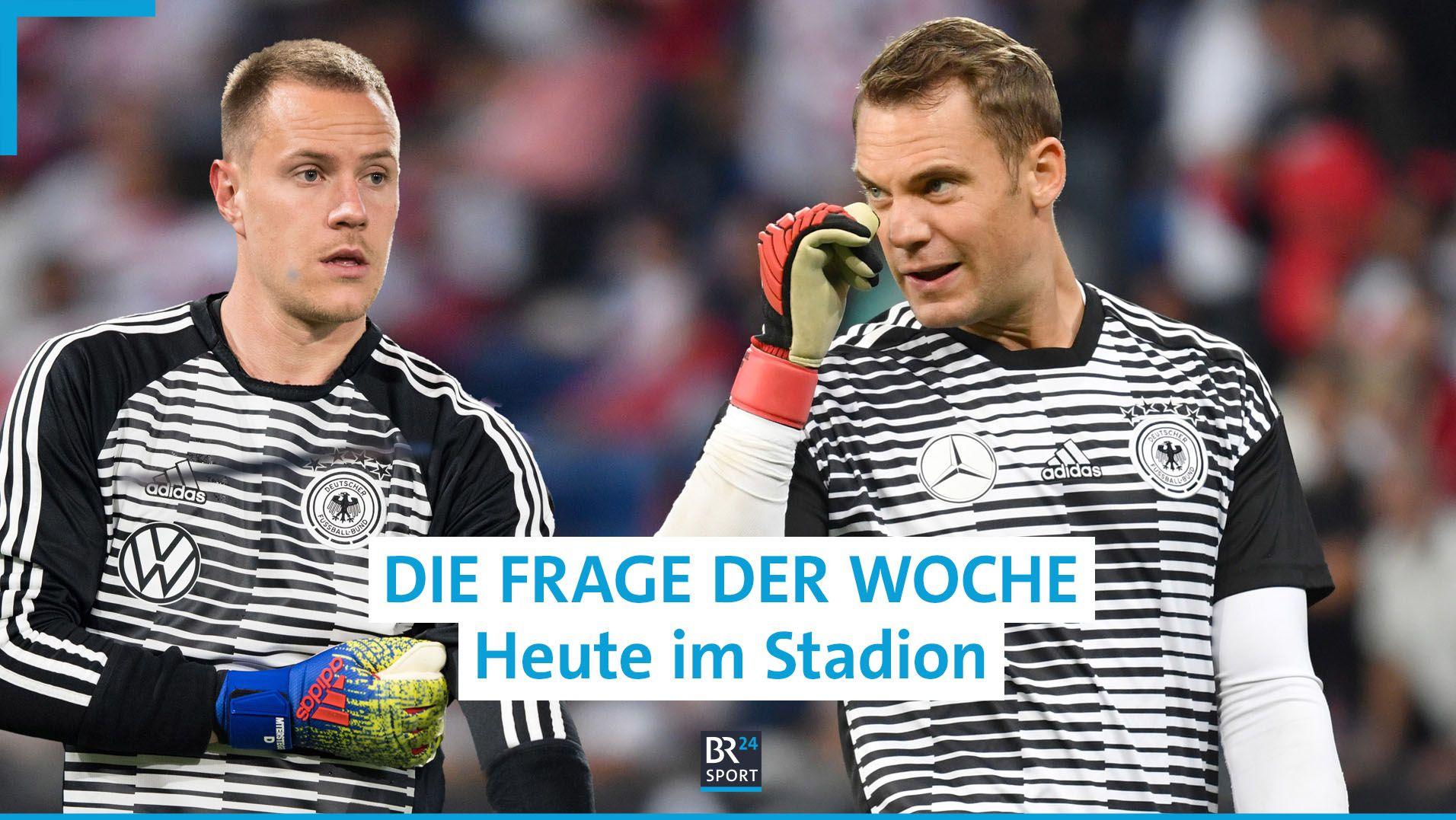 Marc André ter Stegen und Manuel Neuer