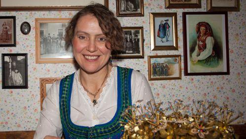 Dagmar Rosenbauer in ihrer Werkstatt