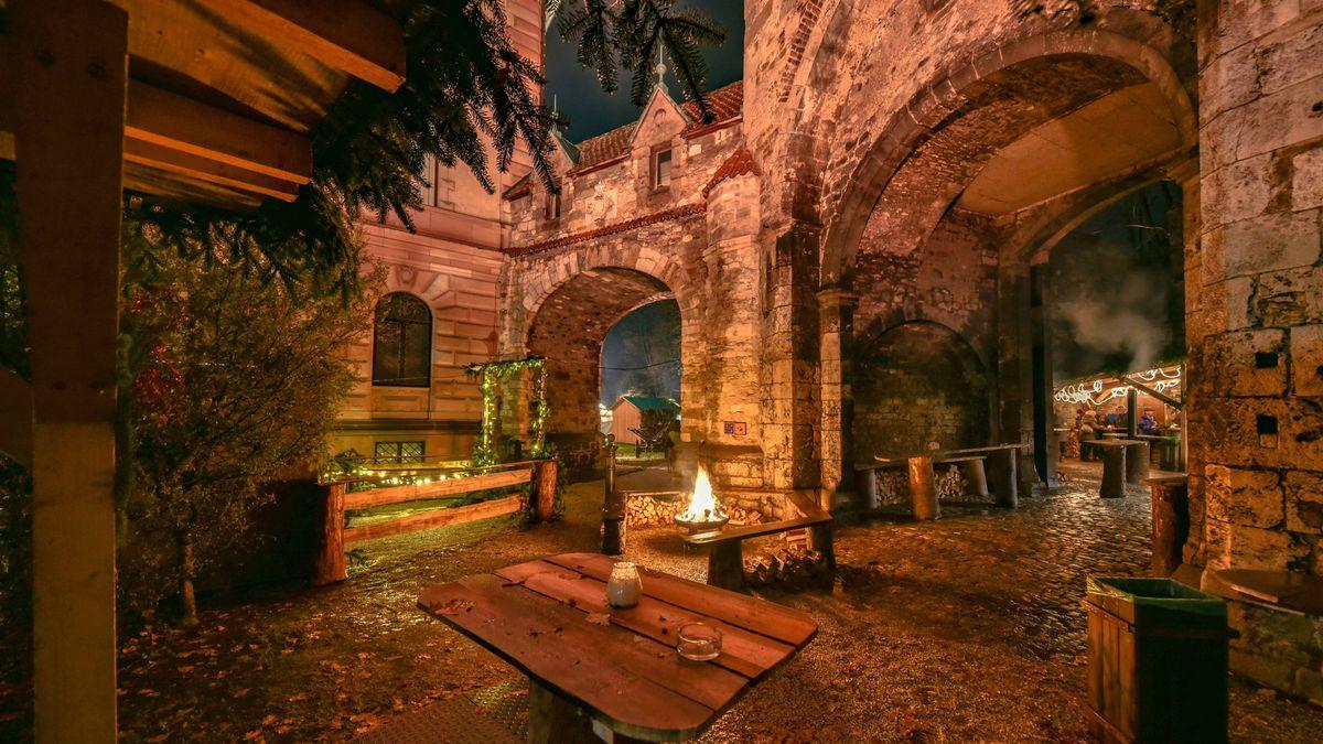 Der Thurn-und-Taxis-Weihnachtsmarktes auf Schloss Emmeram