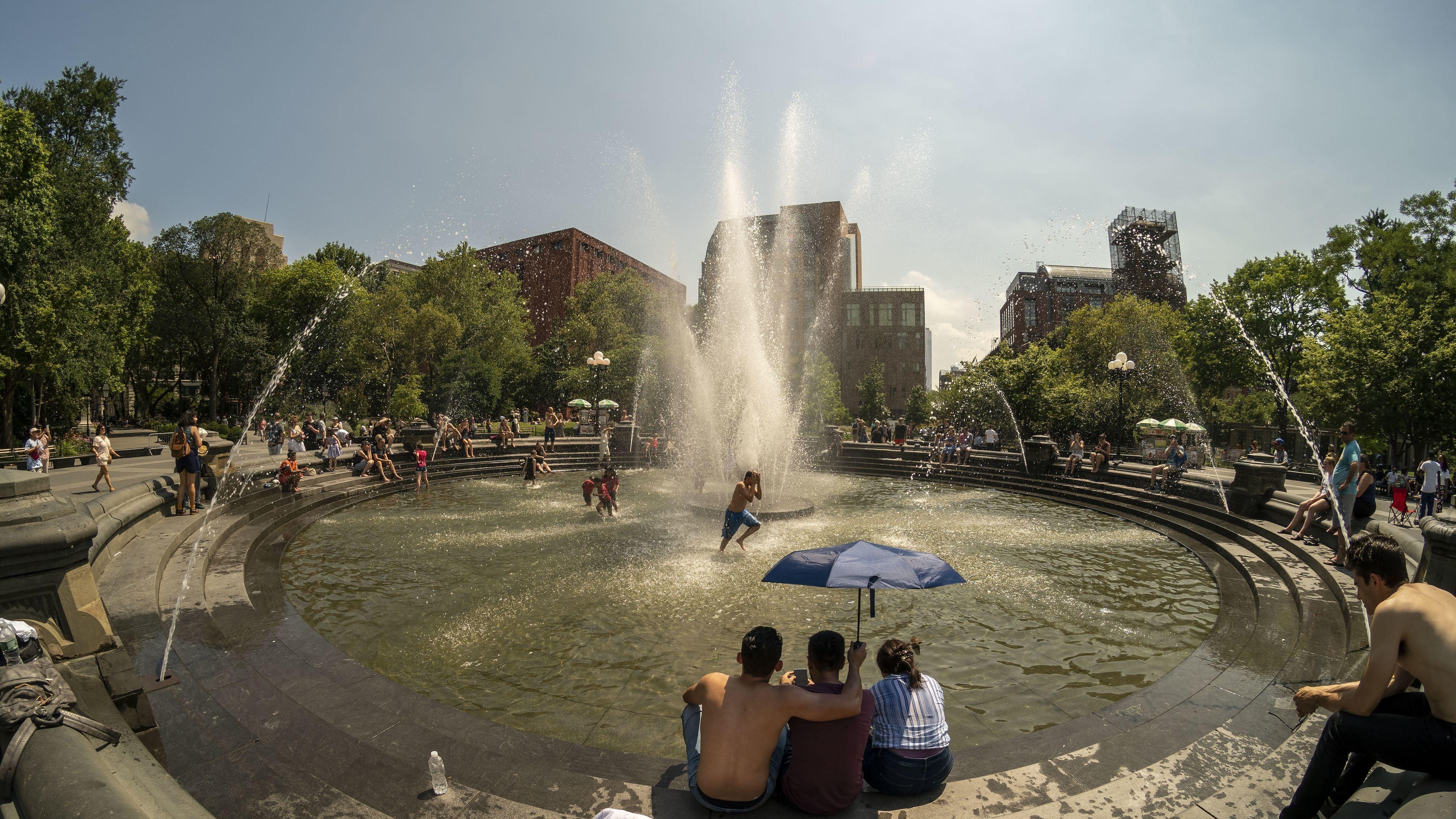 Hitze in New York