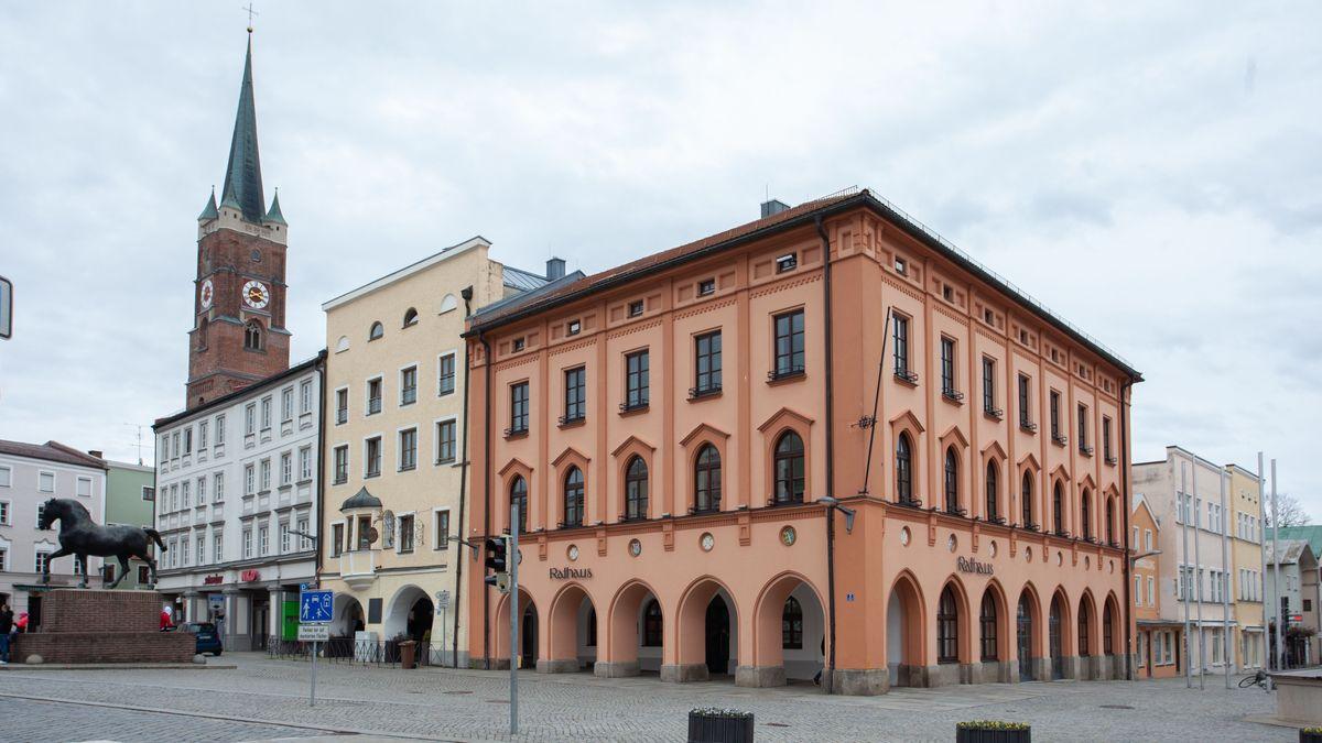 Das Rathaus in Pfarrkirchen