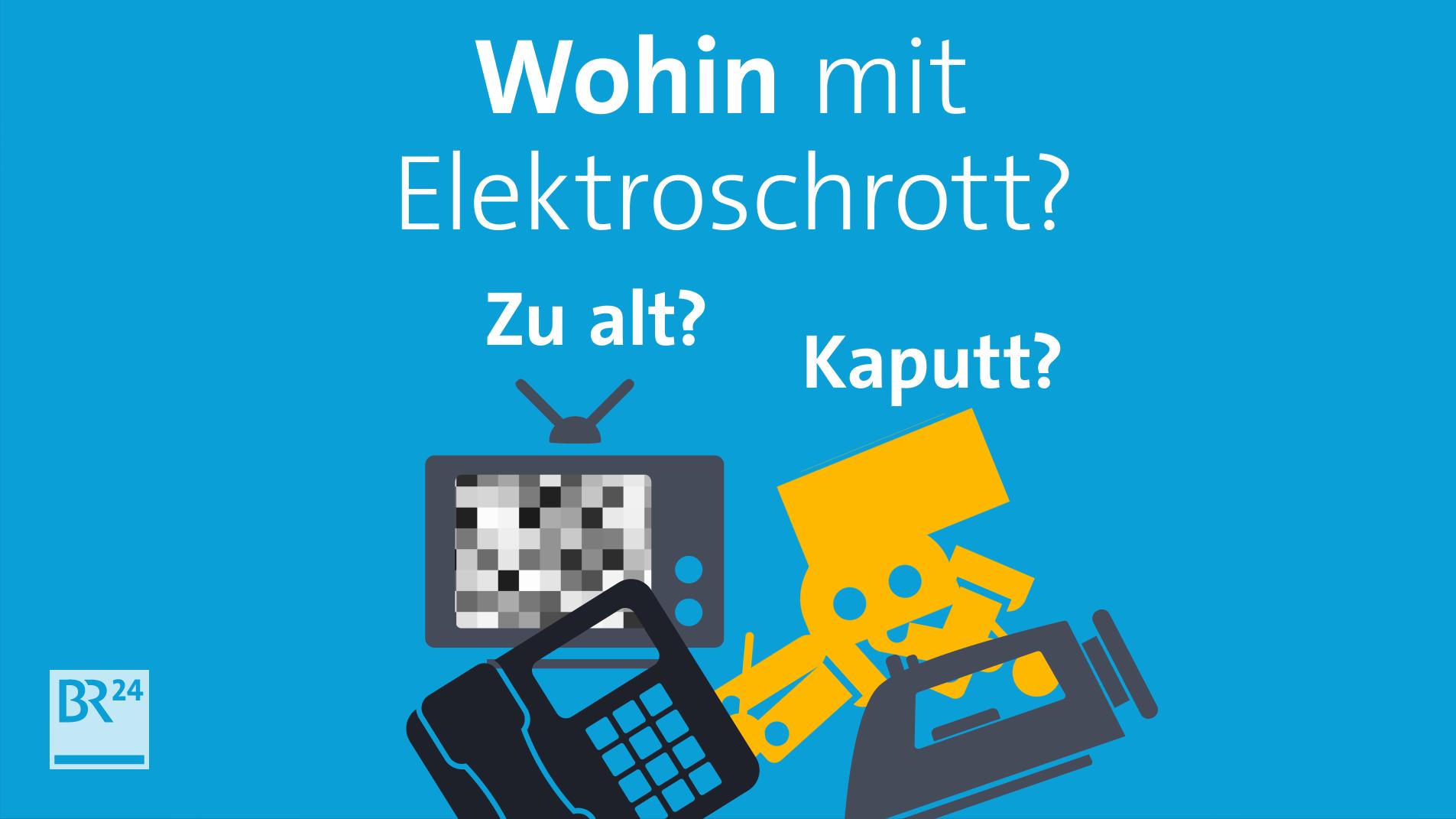 #fragBR24💡 Wohin mit dem Elektroschrott?
