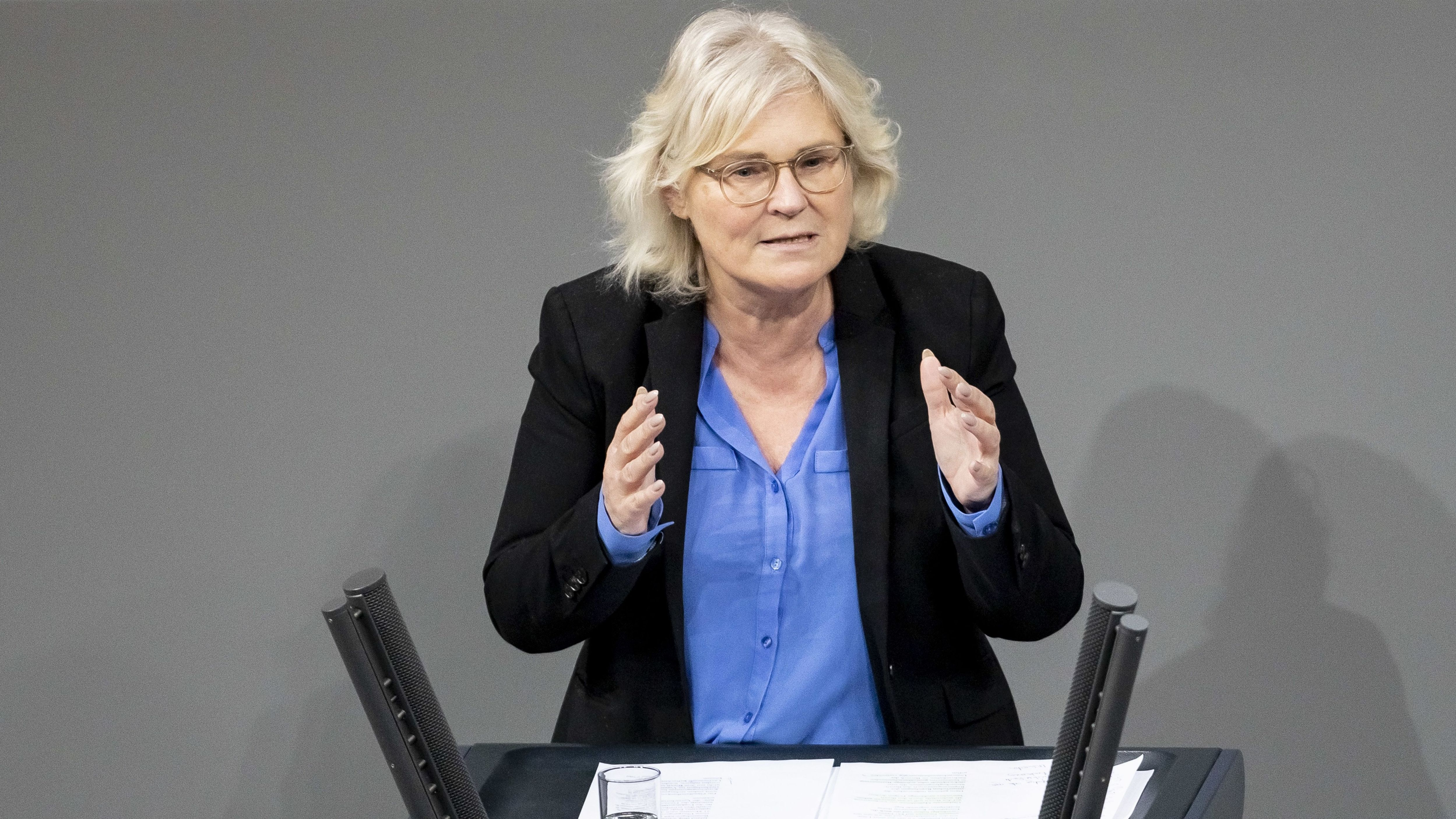 Christine Lambrecht (SPD) soll neuen Bundesjustizministerin werden
