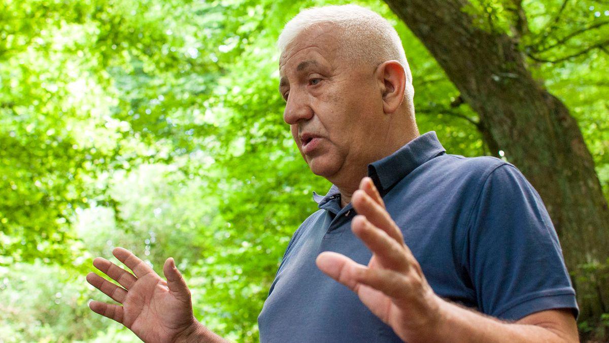 Sadik Selimovic, sucht nach Vermissten