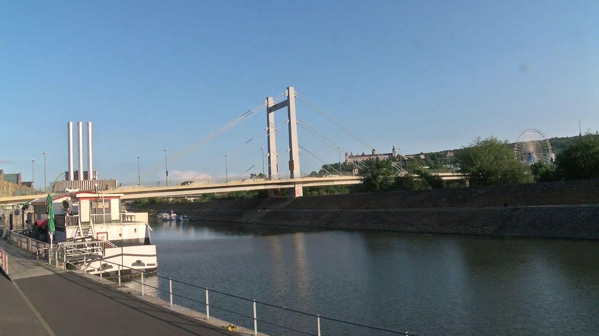 Die Brücke der Deutschen Einheit in Würzburg