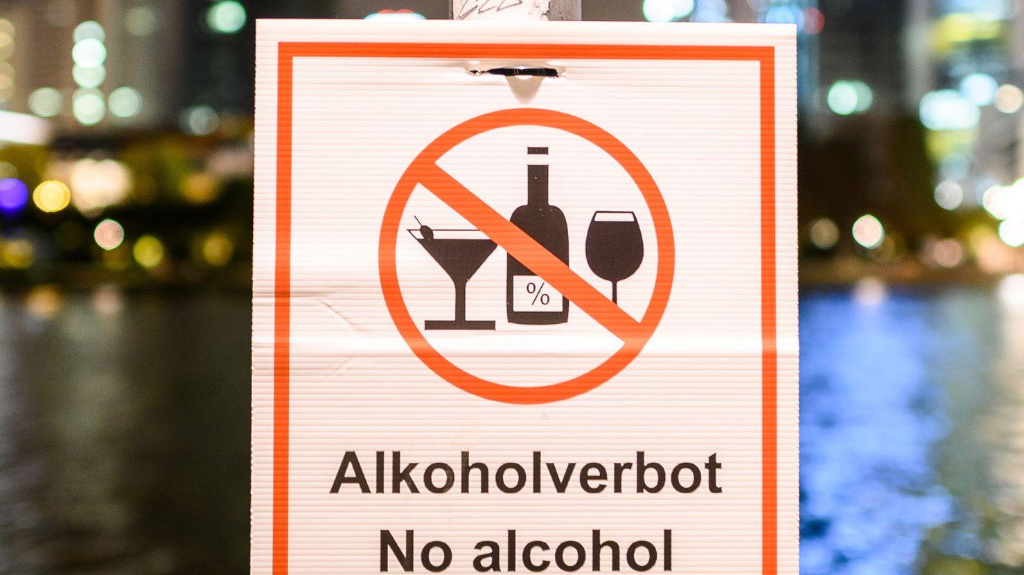 Nächtliches Alkoholverbot als Corona-Schutz