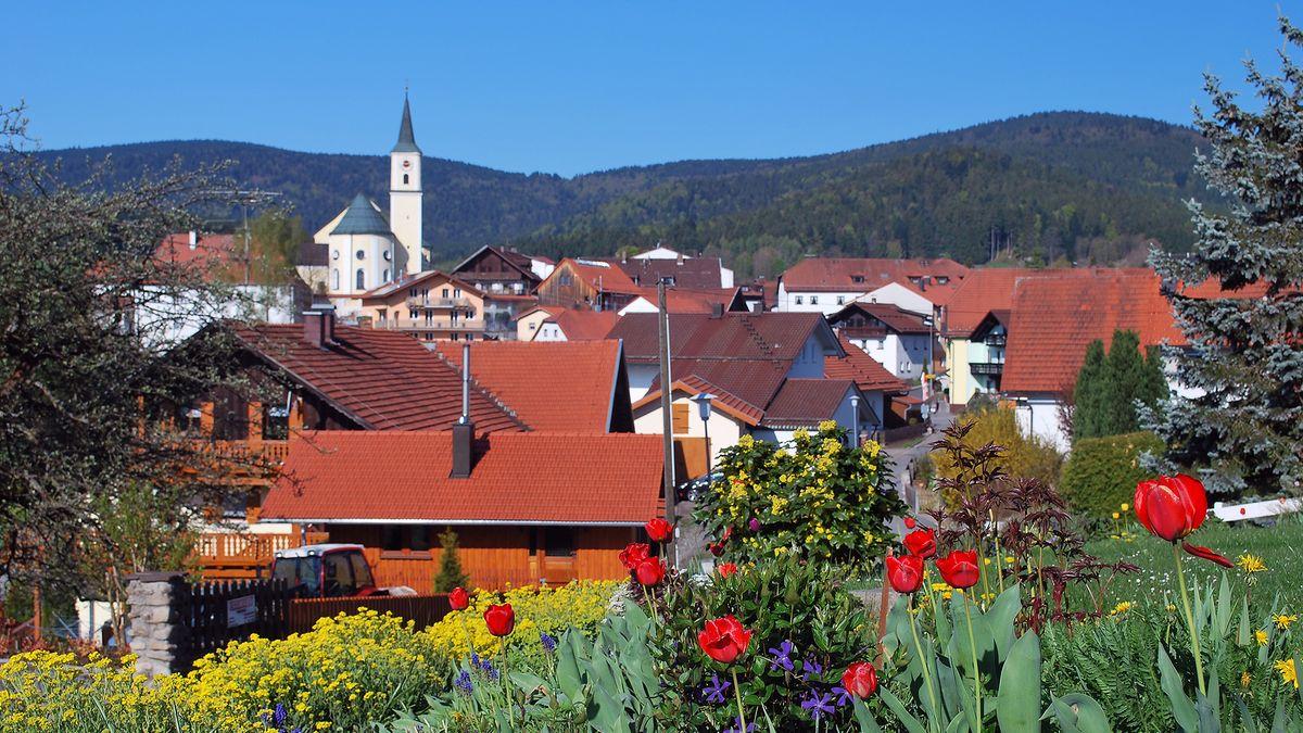 Die Gemeinde Bischofsmais - idyllisch gelegen - im Bayerischen Wald