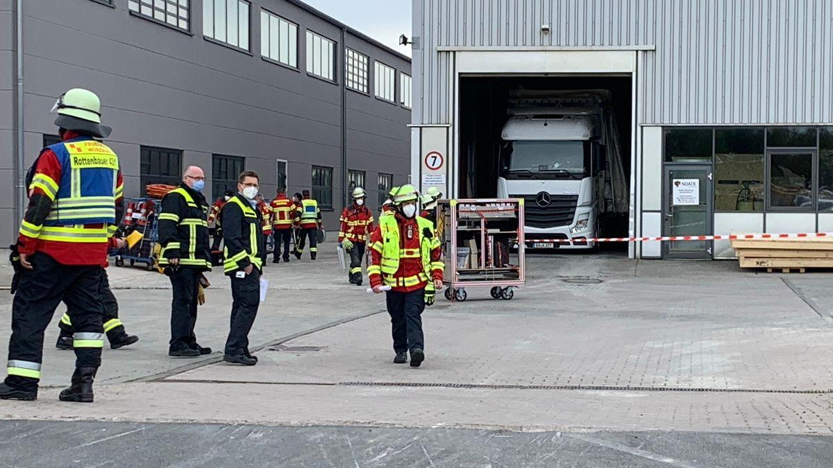 Radioaktives Paket: Feuerwehreinsatz in Rottenbauer