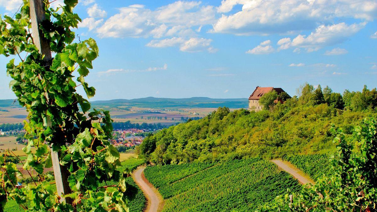 Burg Hoheneck bei Ipsheim.