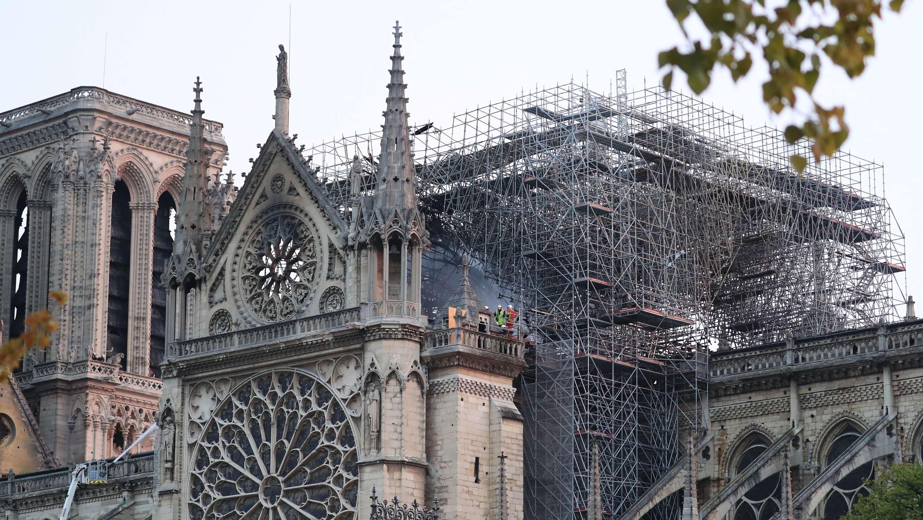 Notre-Dame nach dem Brand