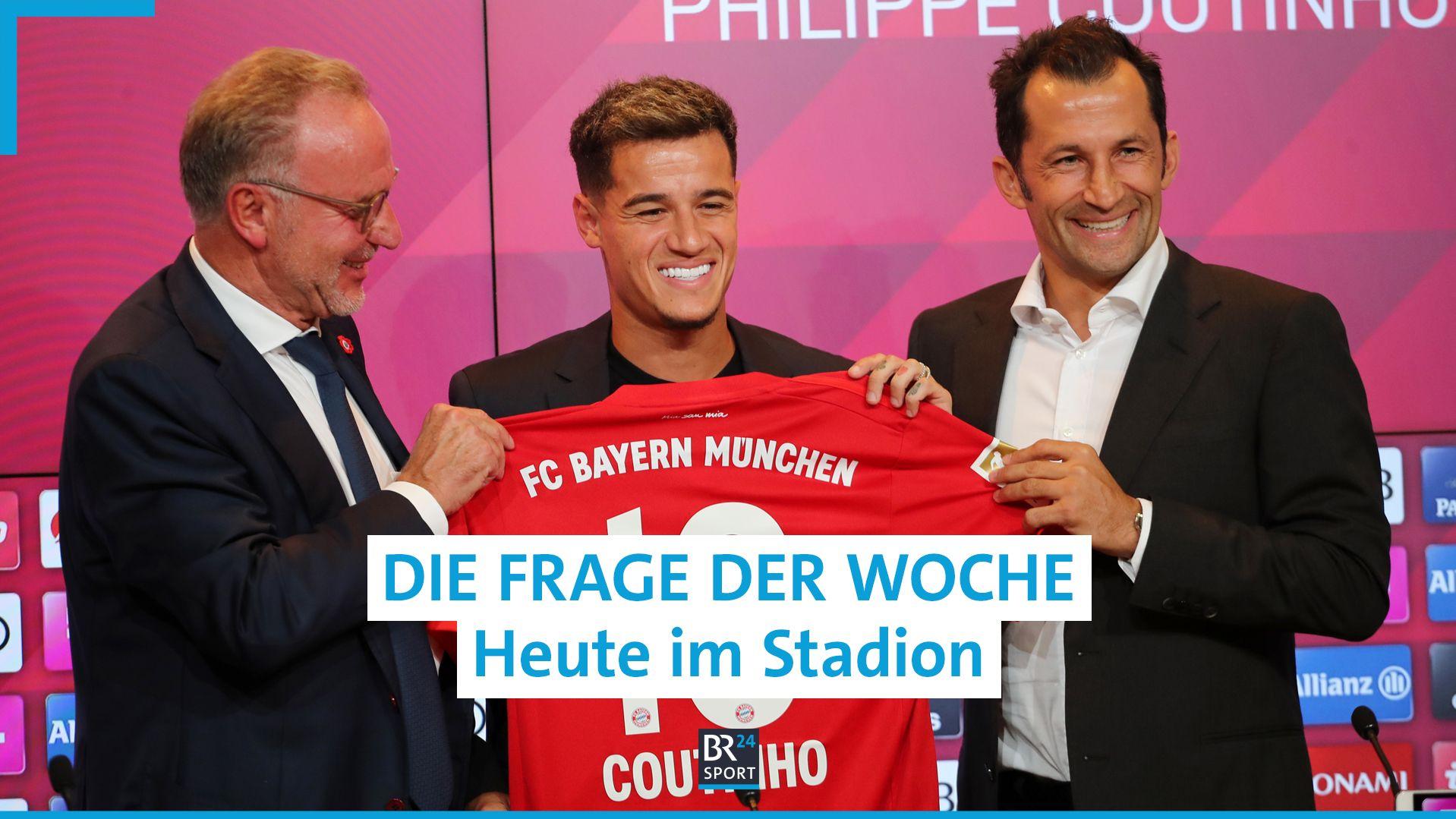 Karl-Heinz Rummenigge, Philippe Coutinho und Hasan Salihamidzic