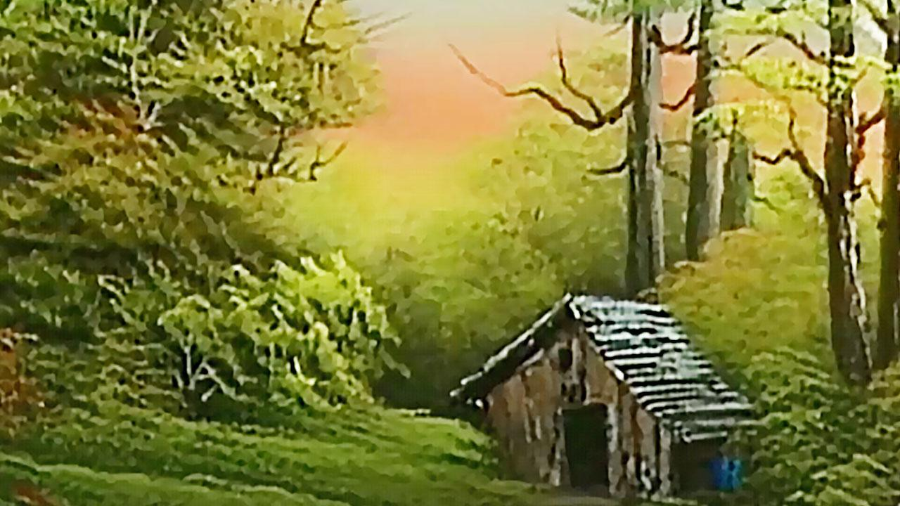 Bob Ross - The Joy of Painting: Cabin at Trail's End