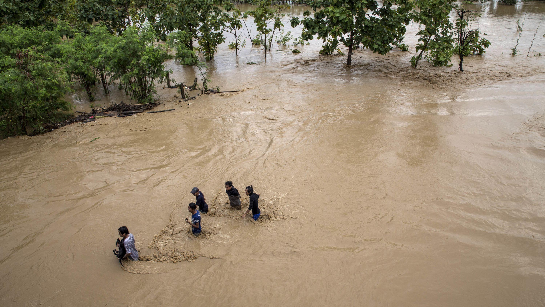 Überschwemmung in Indonesien (Archivbild)