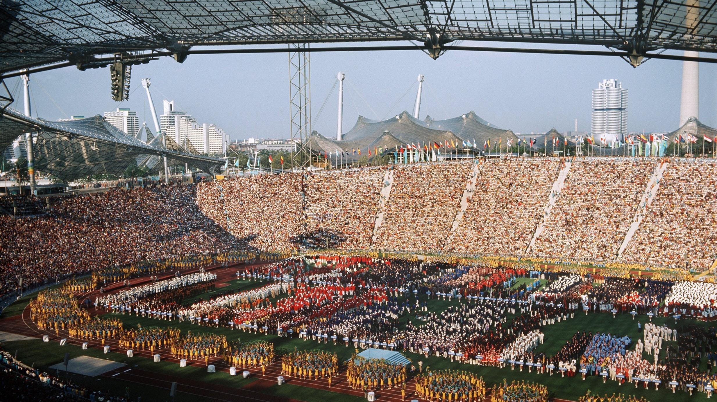Olympia 1972 1 17 26 August Die Eroffnungsfeier