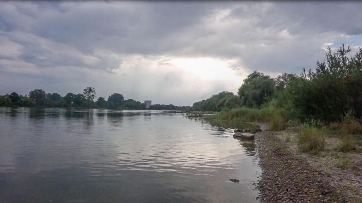 Die Badestelle an der Donau wirkt harmlos, birgt aber Gefahren