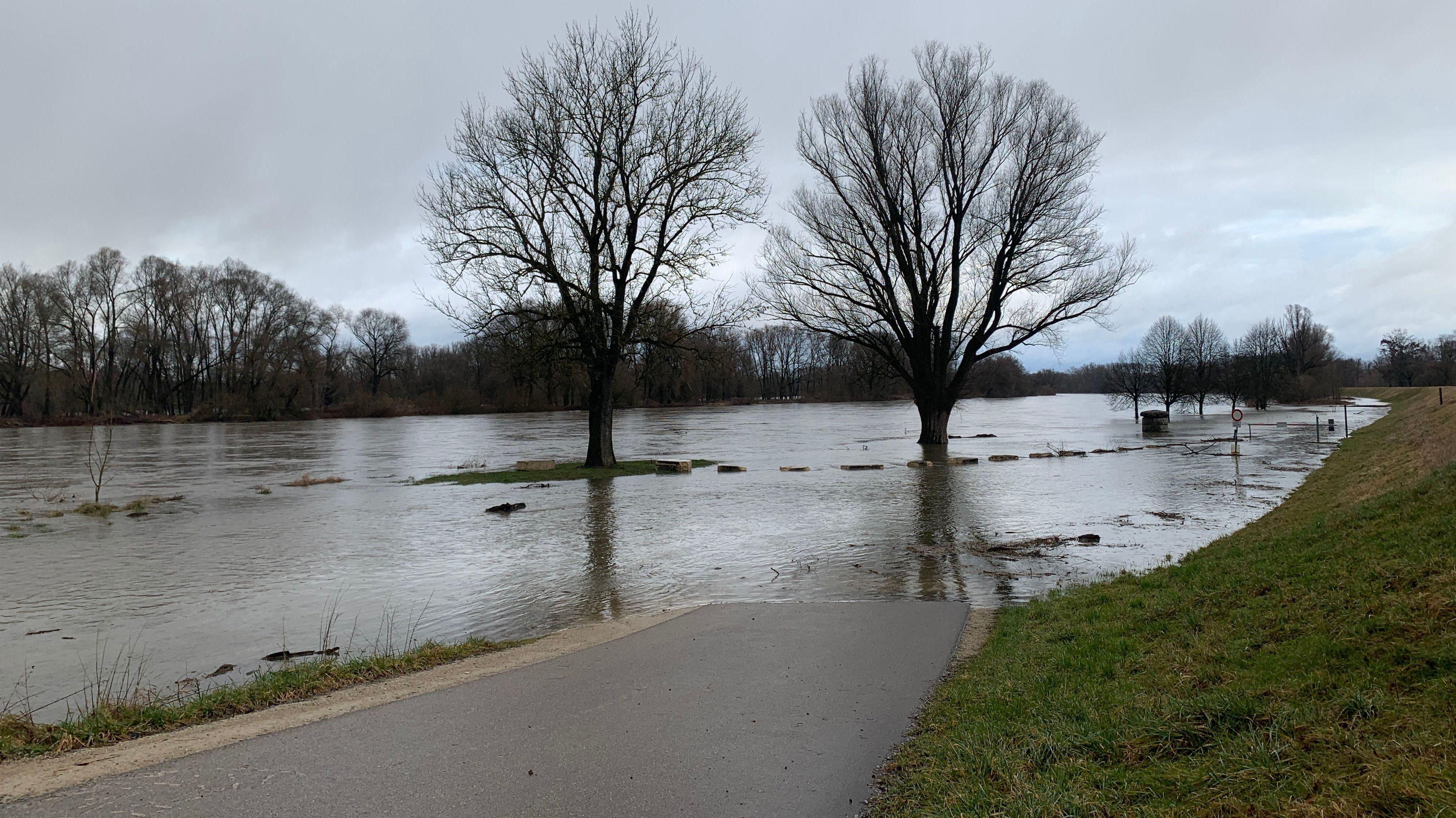 Hochwasser im Landkreis Kelheim
