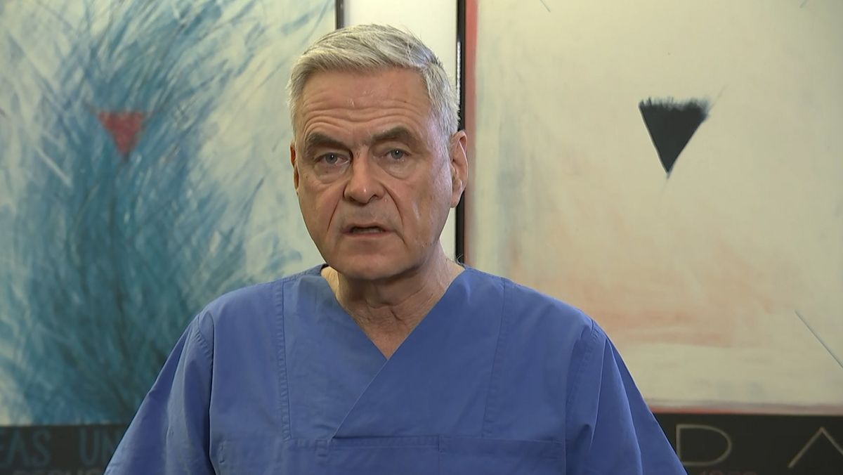 Uwe Janssens,  Präsident der Deutschen Interdisziplinären Vereinigung für Intensiv- und Notallmedizin