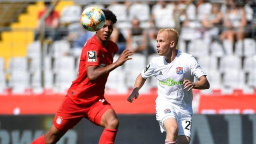 Spielszene FC Bayern München II - SpVgg Unterhaching