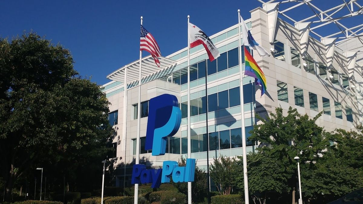 PayPal Zentrale in San Jose im Silicon Valley