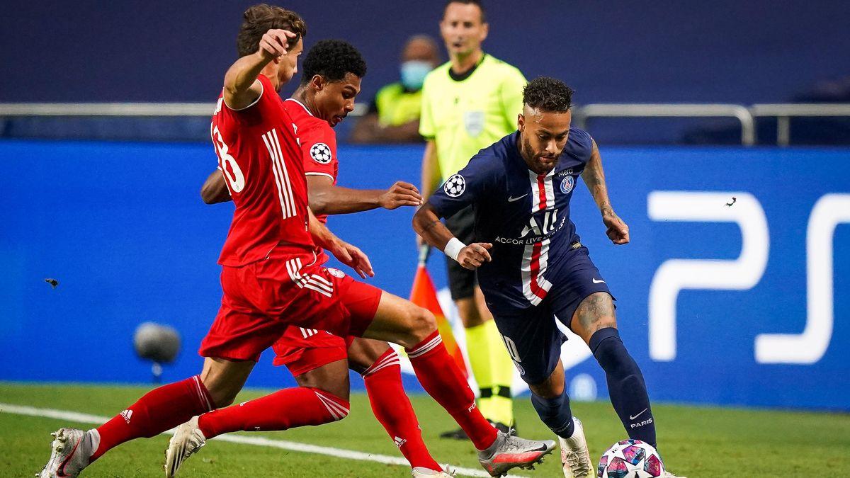 Die erste hochkarätige Chance der Partie hat der Brasilianer Neymar in der 17. Minute.