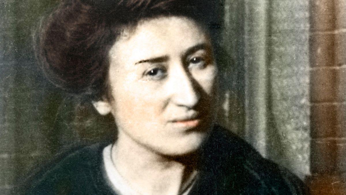 Porträt der revolutionären Politikerin