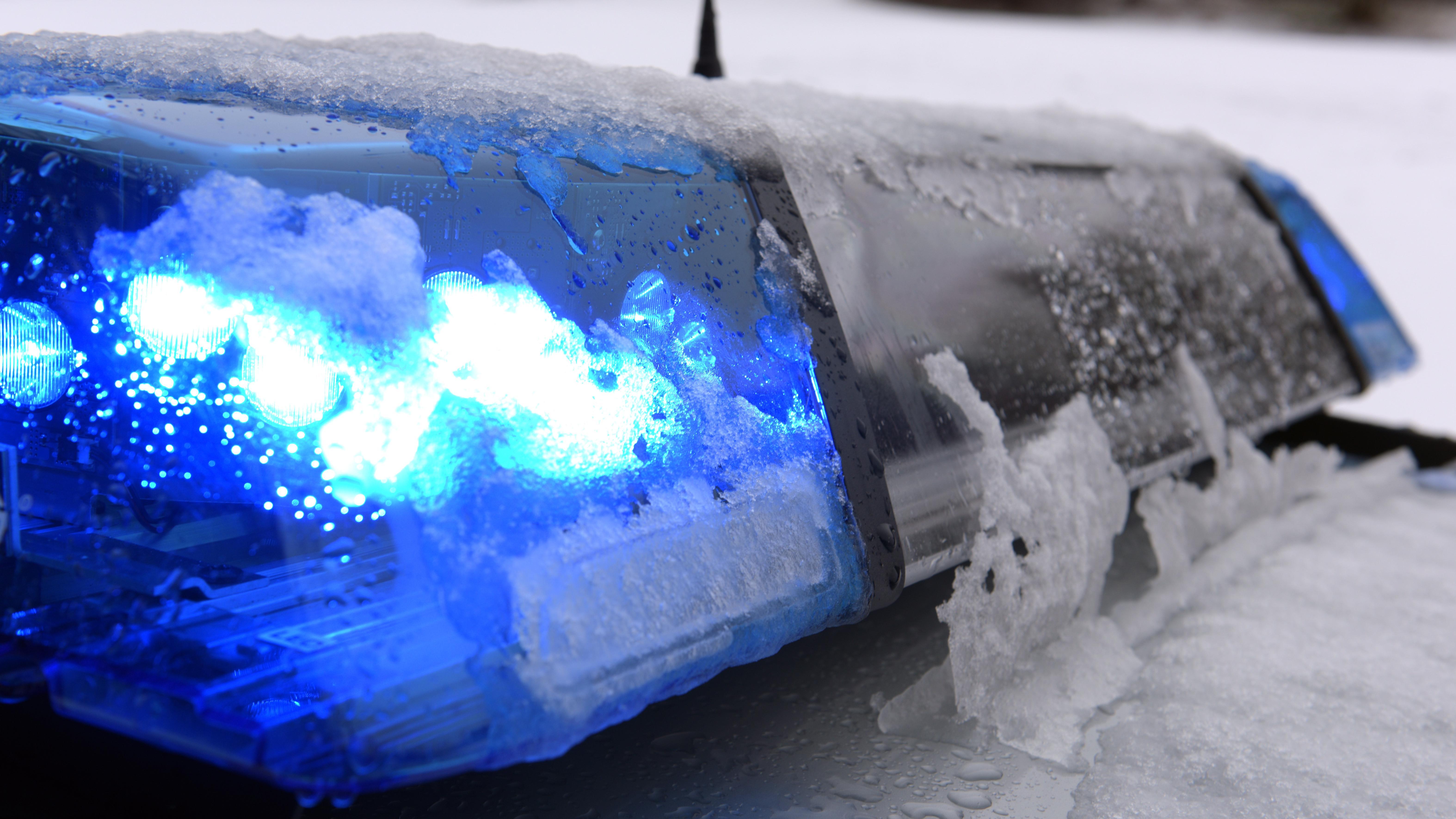 Blaulicht einer Polizei
